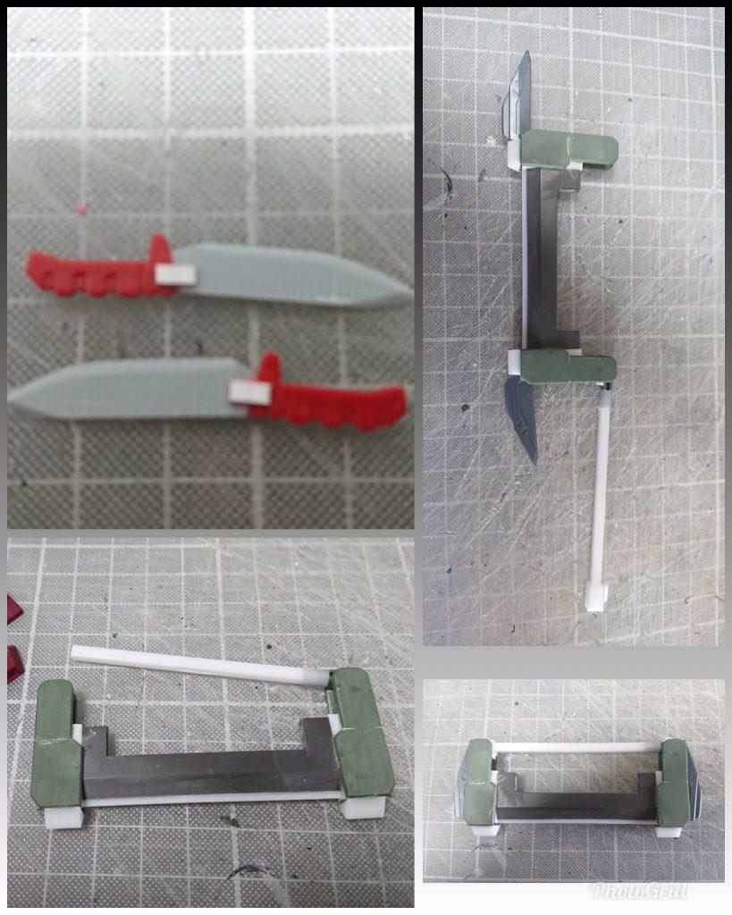 GARMORE RODI (ガルモア・ロディ) 制作工程4