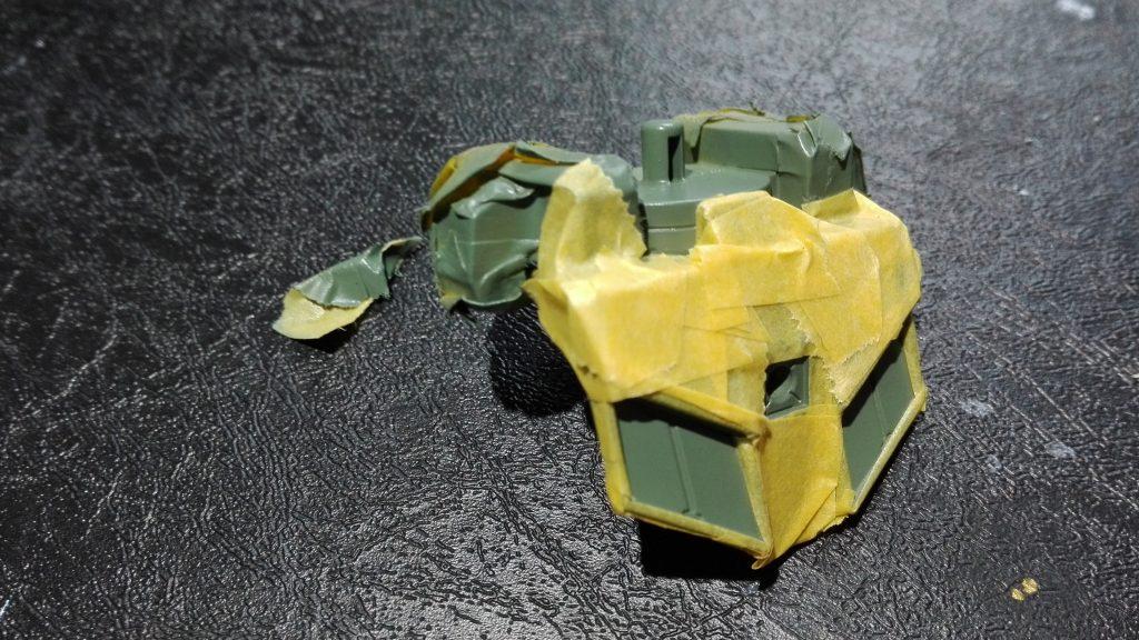 HG ジンクスⅣ(一般機) 制作工程3