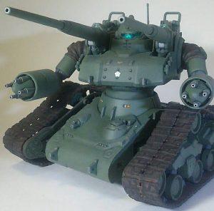 ガンタンク初期型(陸上自衛隊仕様)
