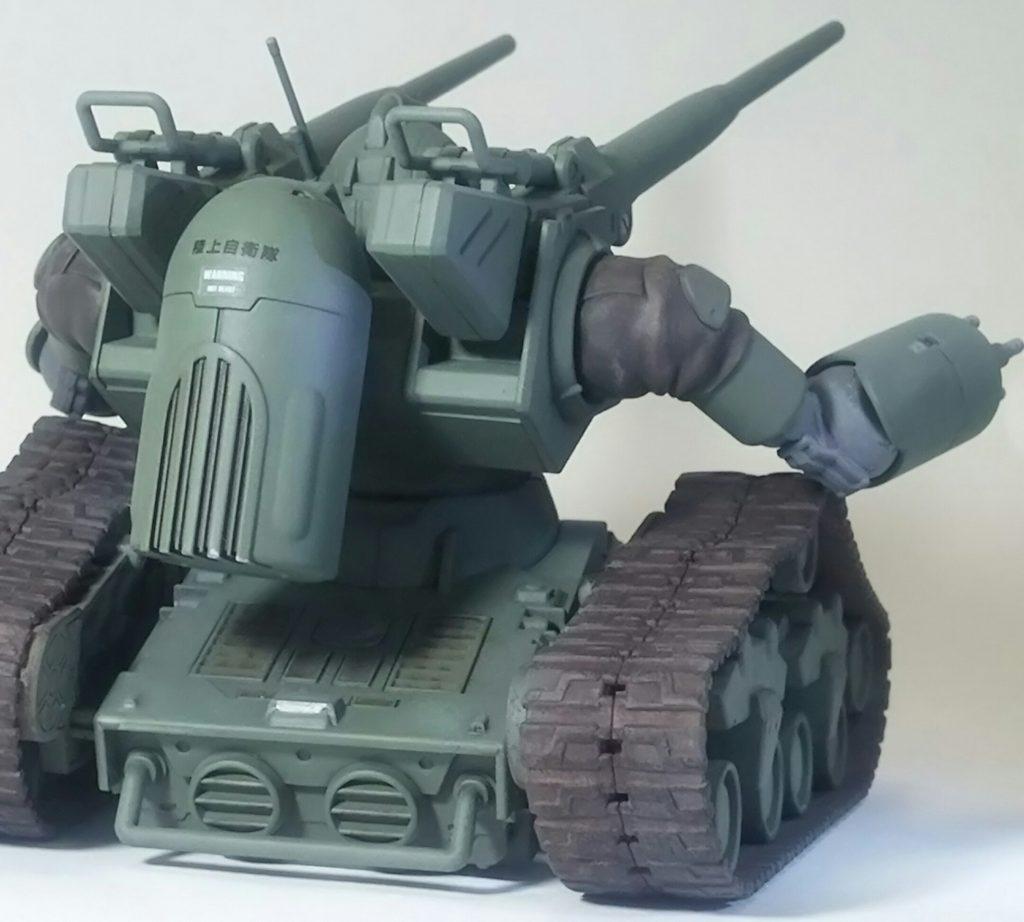 ガンタンク初期型(陸上自衛隊仕様) アピールショット2