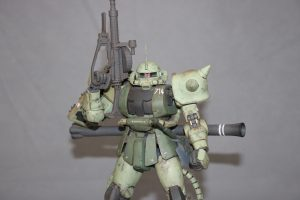 MG MS-06J ZAKU Ⅱ(指揮官機)