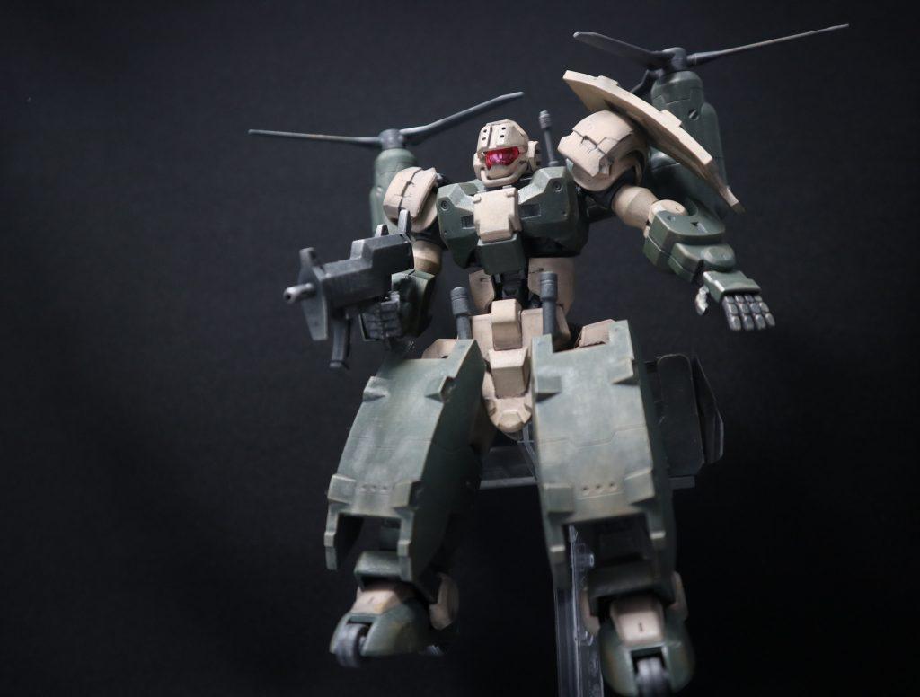GARMORE RODI (ガルモア・ロディ) 制作工程1