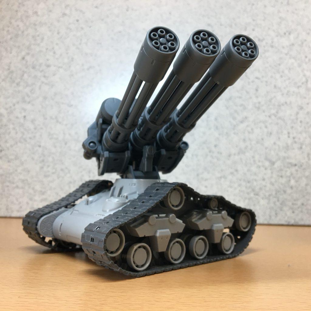 三連砲塔ガトリング戦車 アピールショット2