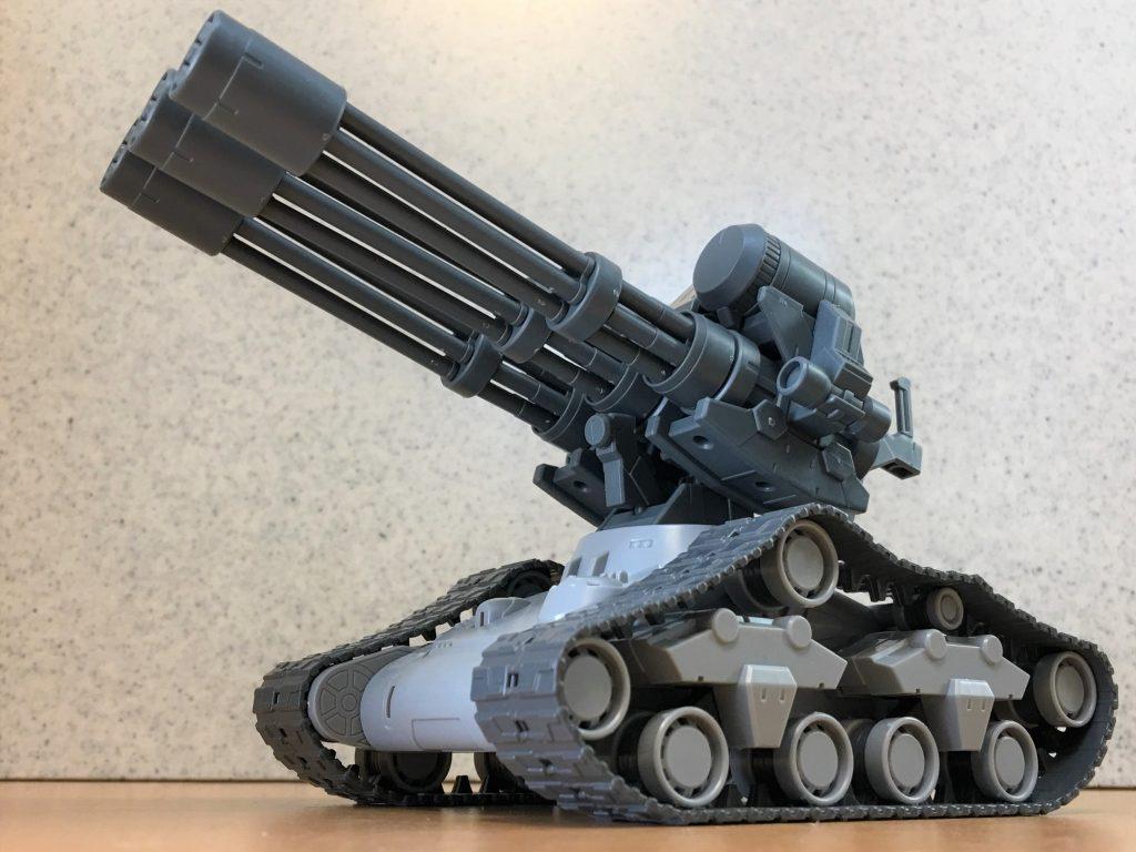 三連砲塔ガトリング戦車 アピールショット1