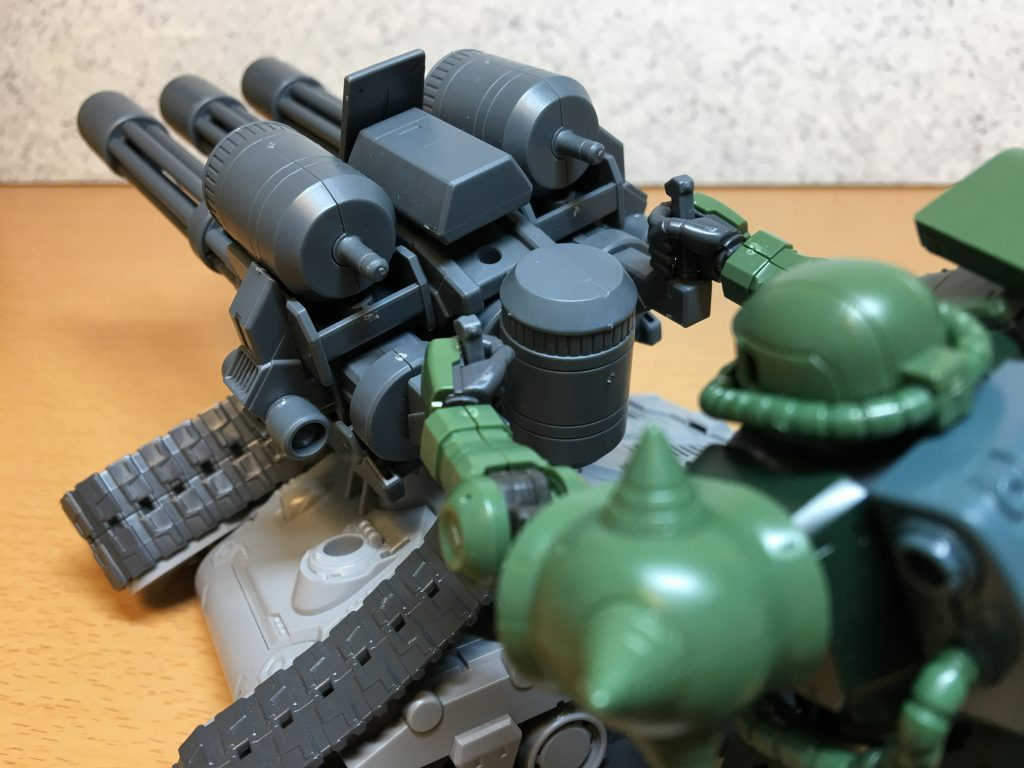 三連砲塔ガトリング戦車 アピールショット8
