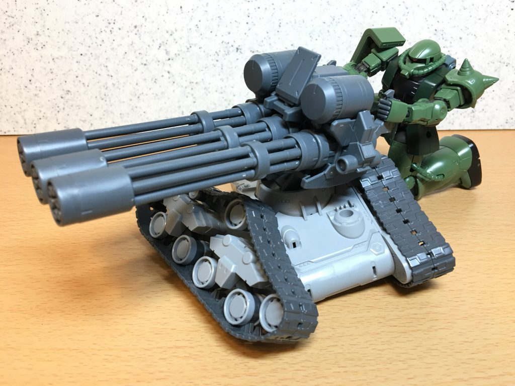 三連砲塔ガトリング戦車 アピールショット7