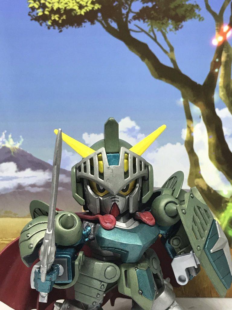 騎士ガンダム(ブロンズアーマー風)