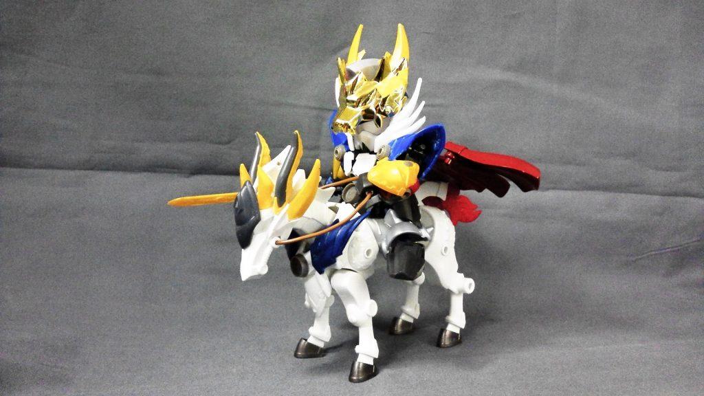 黄金の騎士 制作工程3