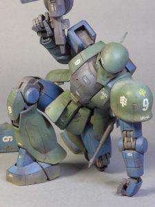 MS-05B ZAKU ~老兵の限界~
