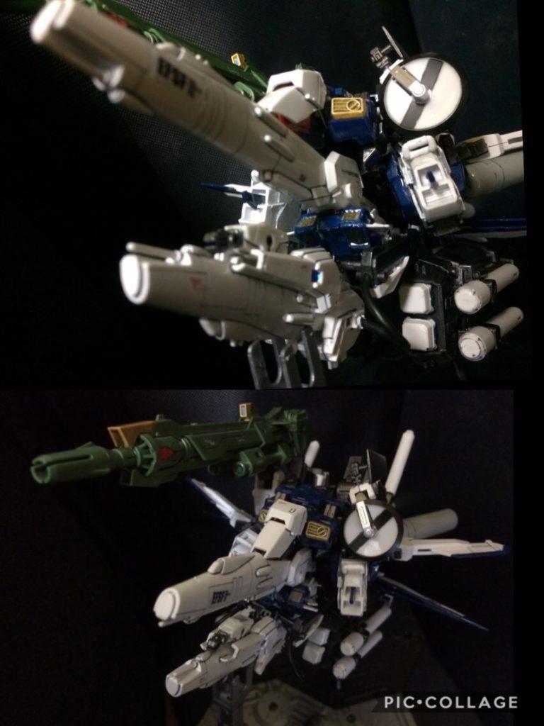Sガンダム インプルーヴメント ディープストライカーEasy        S Gundam improvement DEEP−STRIKER EASY 制作工程2