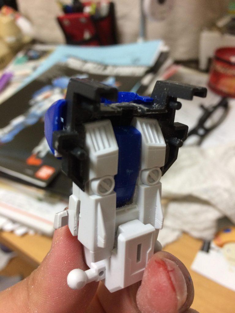 スペリオルガンダム インプルーヴメント Superior-Gundam improvement 制作工程7