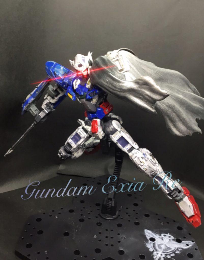 GUNDAM EXIA RE 制作工程4
