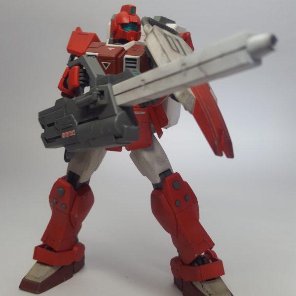 陸戦型ジム(消防機)