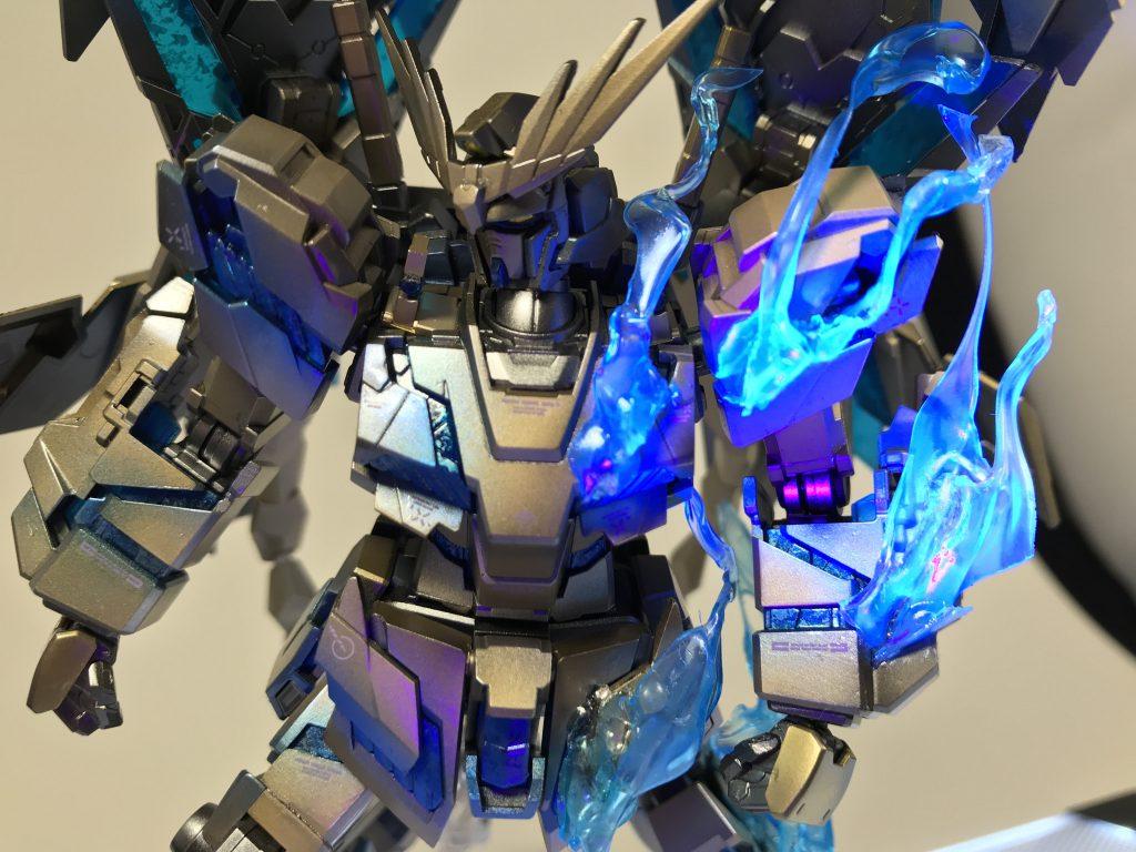 RX-0ユニコーン ガンダム3号機 フェネクス (NT) ナイトロフレア 制作工程3