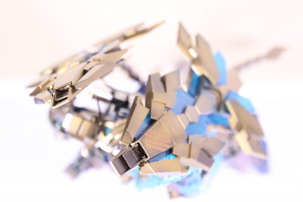 RX-0ユニコーン ガンダム3号機 フェネクス (NT) ナイトロフレア アピールショット4