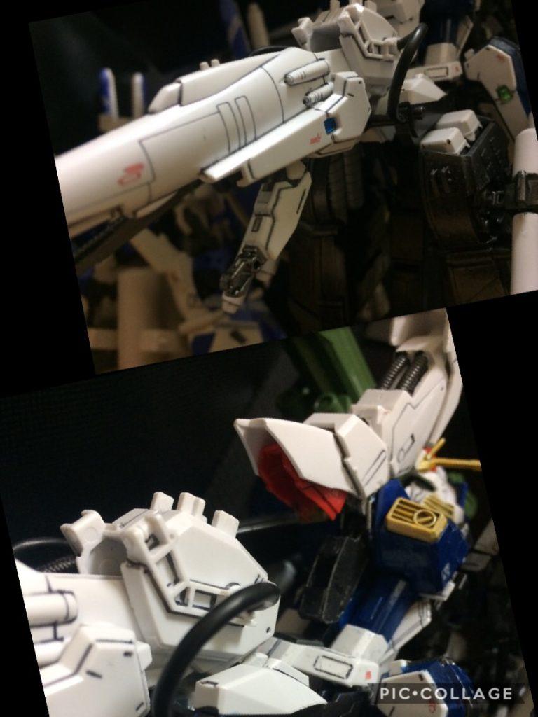Sガンダム インプルーヴメント ディープストライカーEasy        S Gundam improvement DEEP−STRIKER EASY 制作工程7