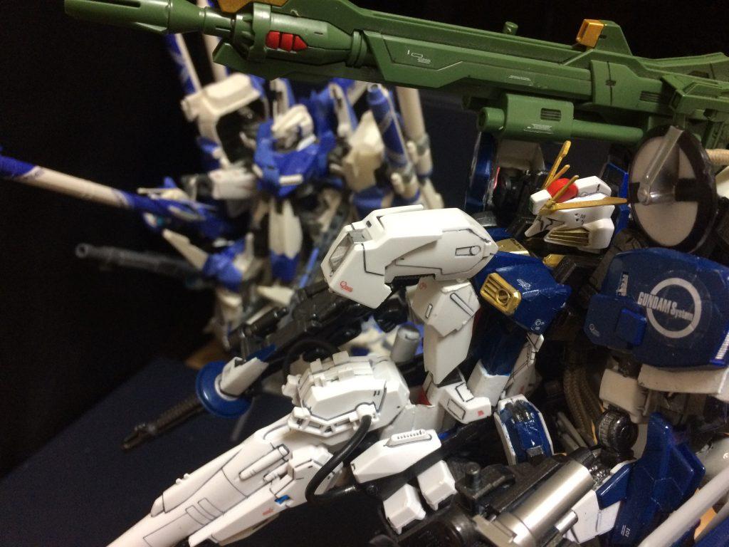 Sガンダム インプルーヴメント ディープストライカーEasy        S Gundam improvement DEEP−STRIKER EASY 制作工程5