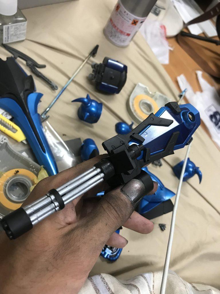 グフカスタム重装型 制作工程1