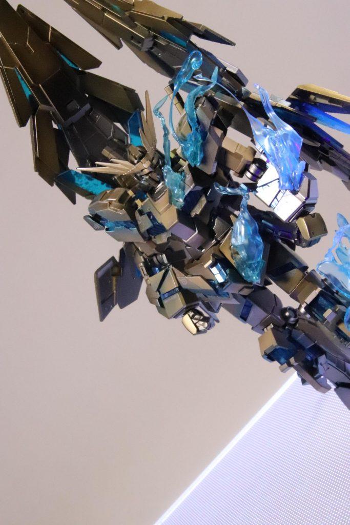 RX-0ユニコーン ガンダム3号機 フェネクス (NT) ナイトロフレア アピールショット5