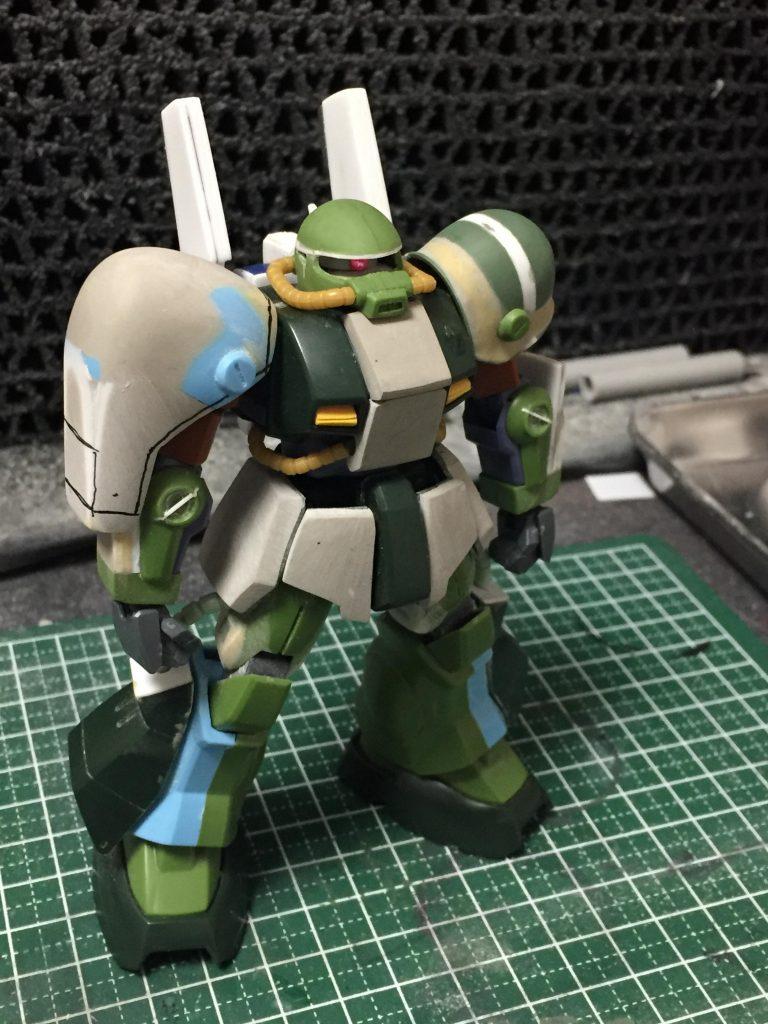 ホビー・ハイザック 制作工程3