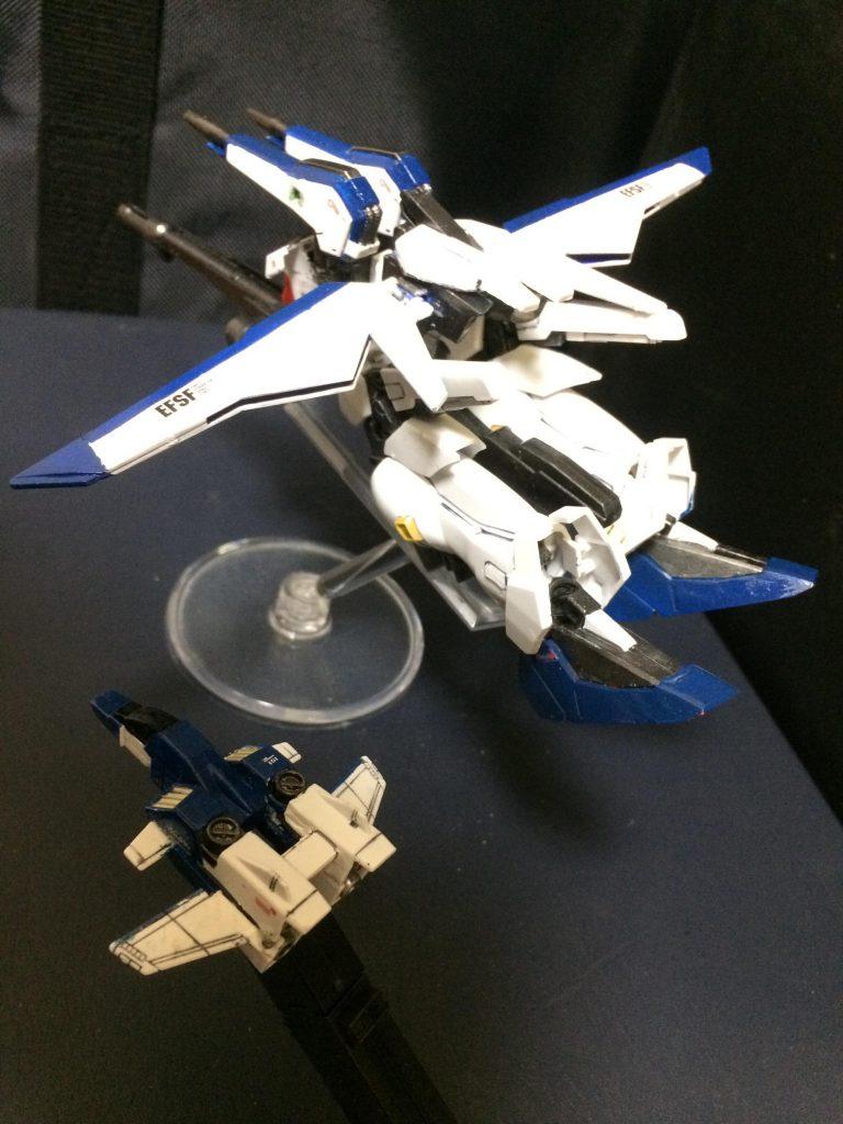 スペリオルガンダム インプルーヴメント Superior-Gundam improvement 制作工程2