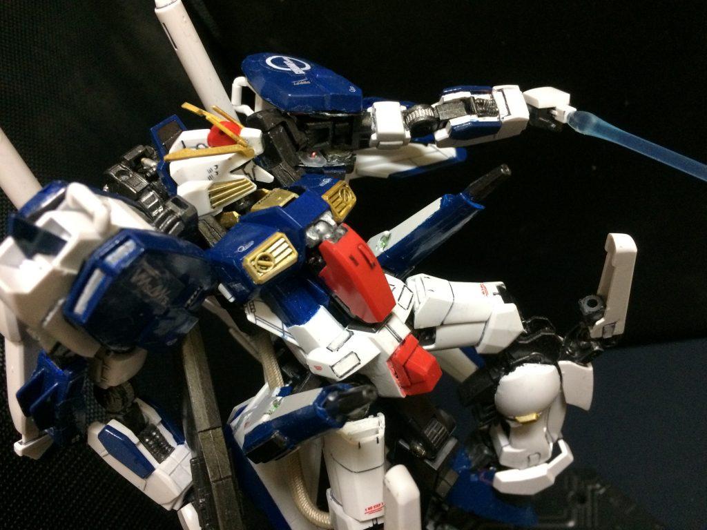スペリオルガンダム インプルーヴメント Superior-Gundam improvement 制作工程8