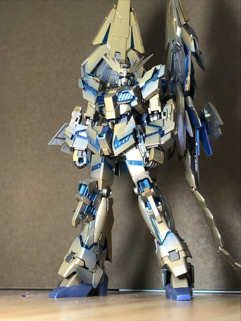 RX-0ユニコーン ガンダム3号機 フェネクス (NT) ナイトロフレア アピールショット7
