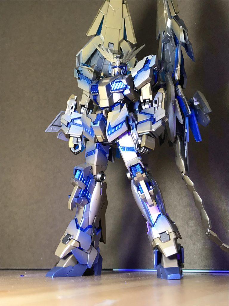 RX-0ユニコーン ガンダム3号機 フェネクス (NT) ナイトロフレア アピールショット8