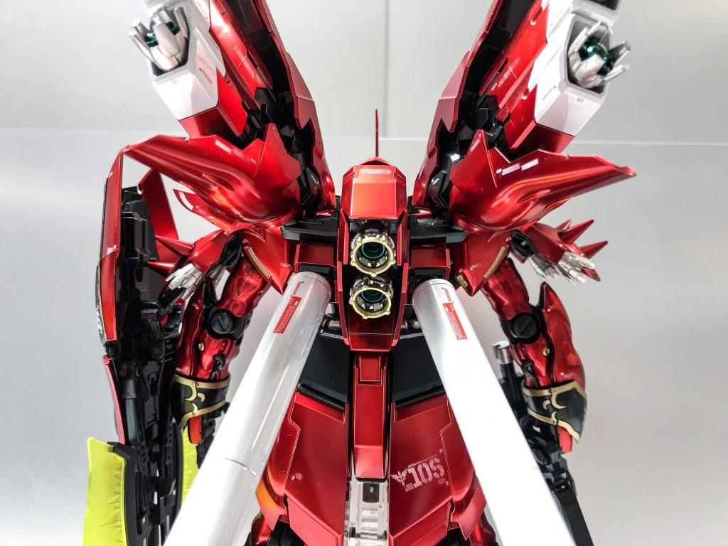 MG シナンジュ ver.ka チタニウムフィニッシュ アピールショット4