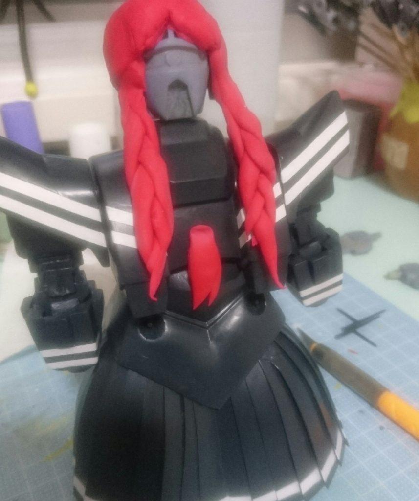 セーラー戦士ジオ子 制作工程2