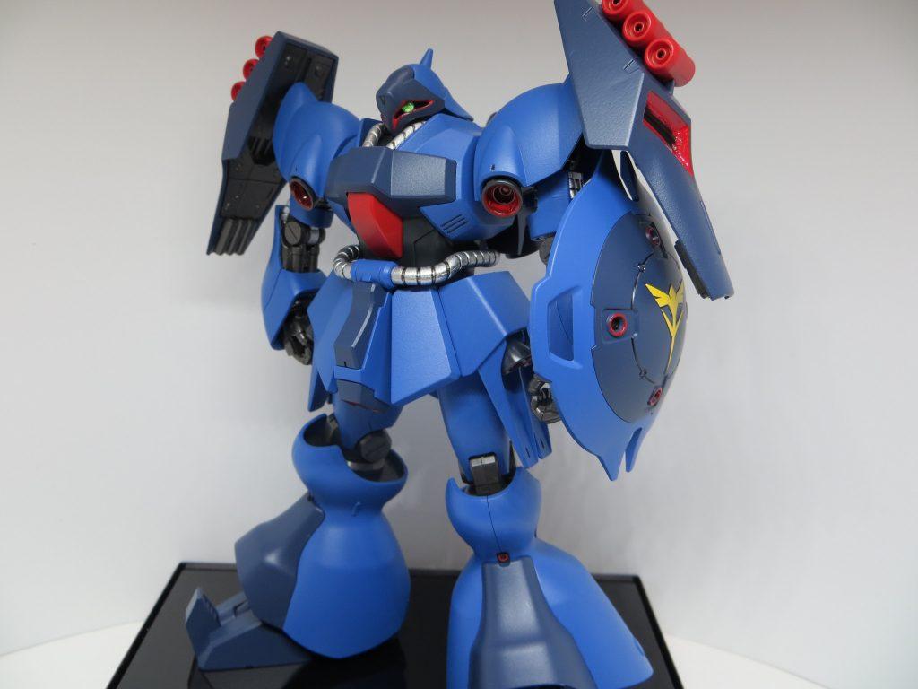 青いヤクトドーガ アピールショット1