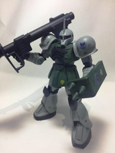 MS-05S ザクⅠ(ゲラート・シュマイザー専用機)SIDE STORIES ver.
