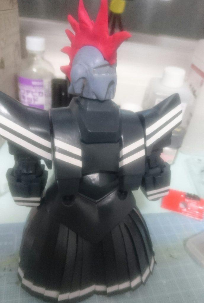 セーラー戦士ジオ子 制作工程1