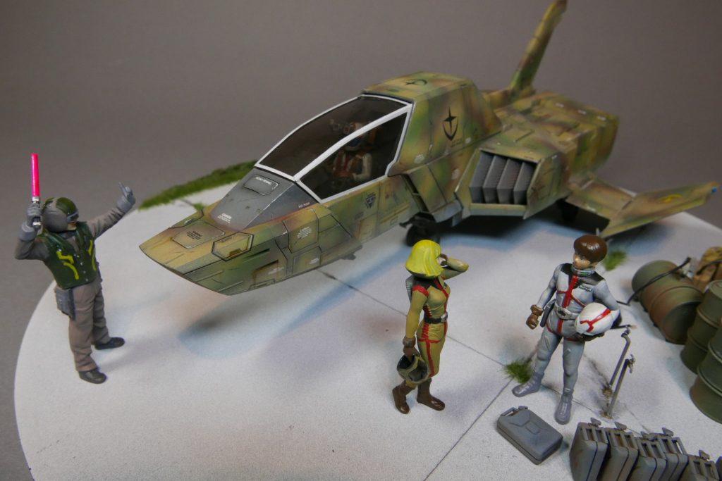FF-X7 コアファイター ~出撃の傍らで~