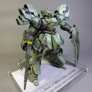 MSN-04A SAZABI (Mass Productive Mobile Suit For Artificial Newtype)