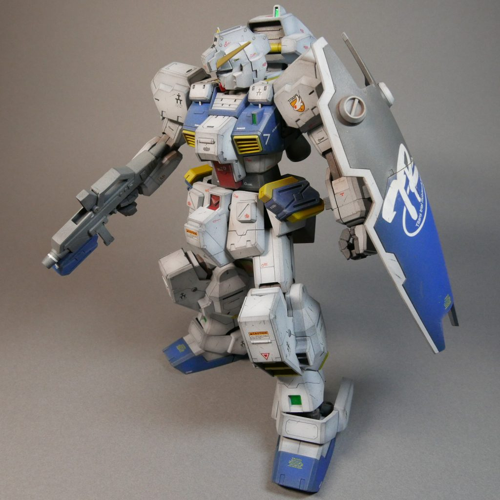 RX121-1 GUNDAM TR-1 [HAZEL CUSTOM] アピールショット4