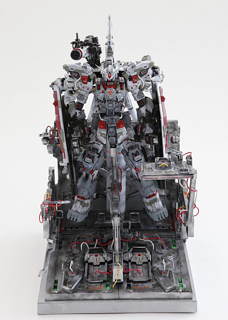 RX78-2 FULL-ARMOUR de FULL-BURNERN & WEAPON SYSTEM