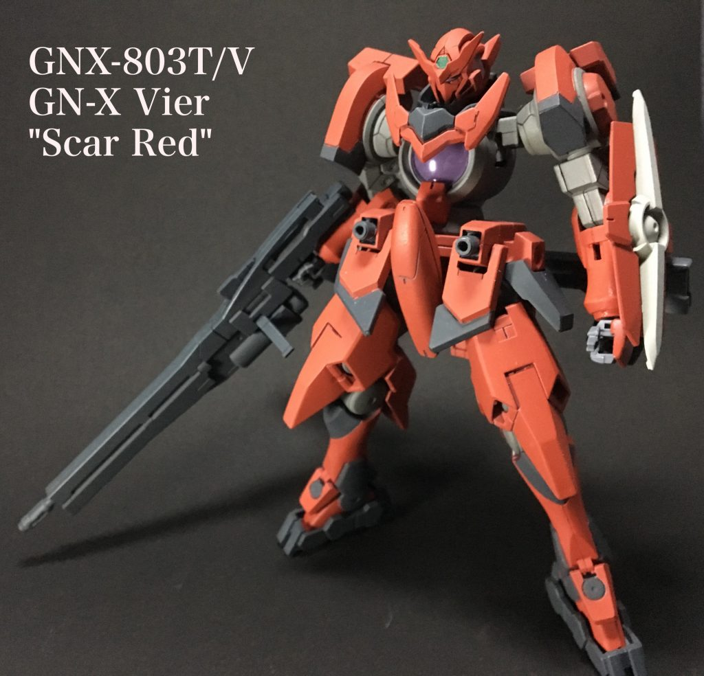 """GNX-803T/V GN-X Vier """"Scar Red"""""""