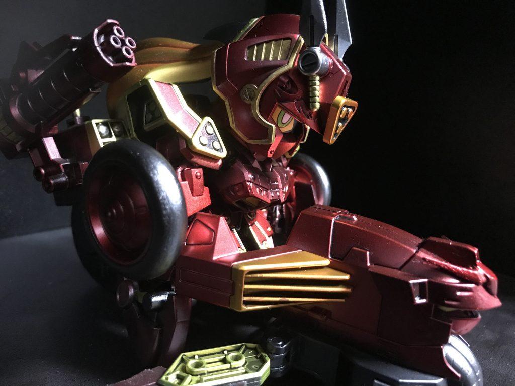 紅武者 -cross silhouette-