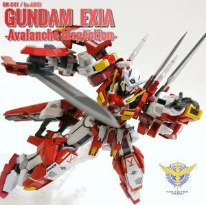 GUNDAM EXIA -Avalanche Inspection-