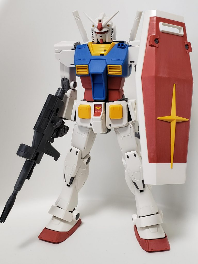 THE ORIGIN RX-78-02 ガンダム 制作工程1