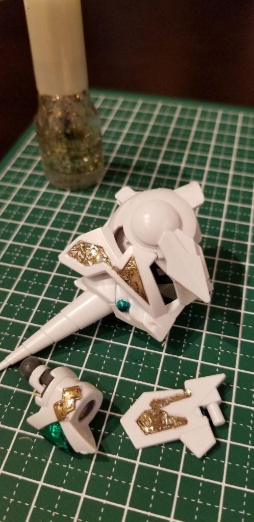 騎士ユニコーンガンダム 制作工程1