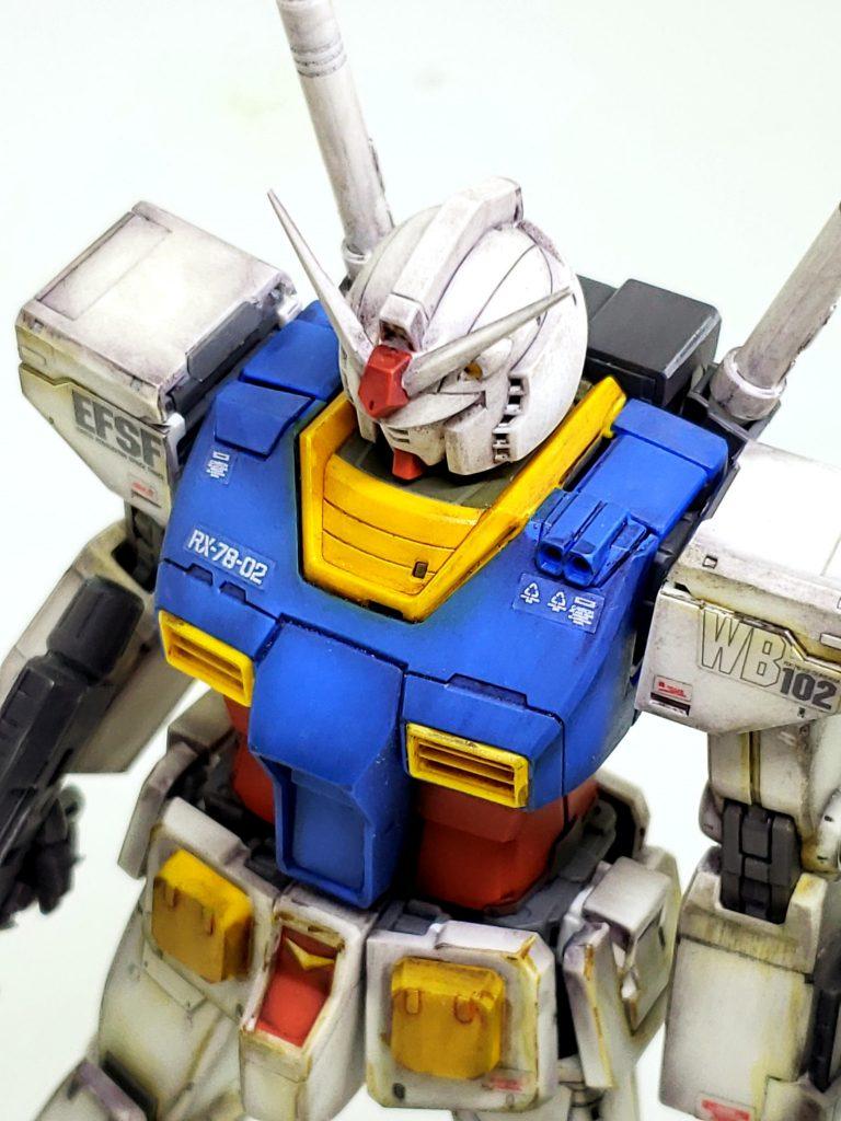 THE ORIGIN RX-78-02 ガンダム アピールショット2
