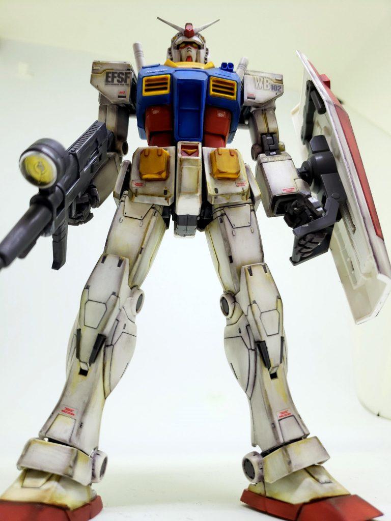THE ORIGIN RX-78-02 ガンダム アピールショット1