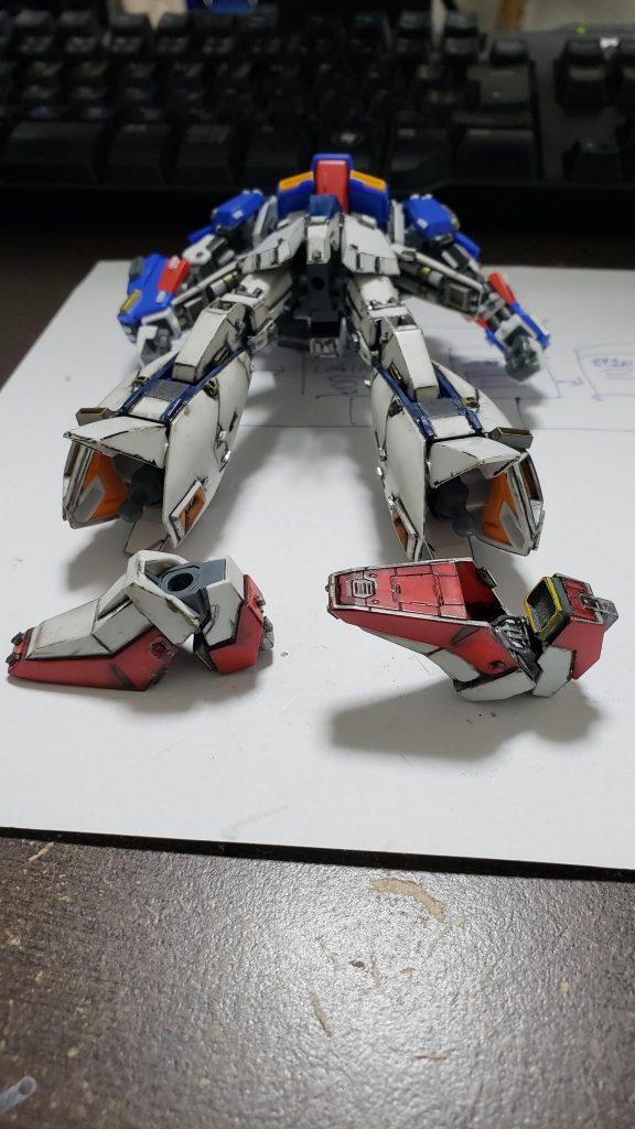 HGUC Zガンダム 制作工程2