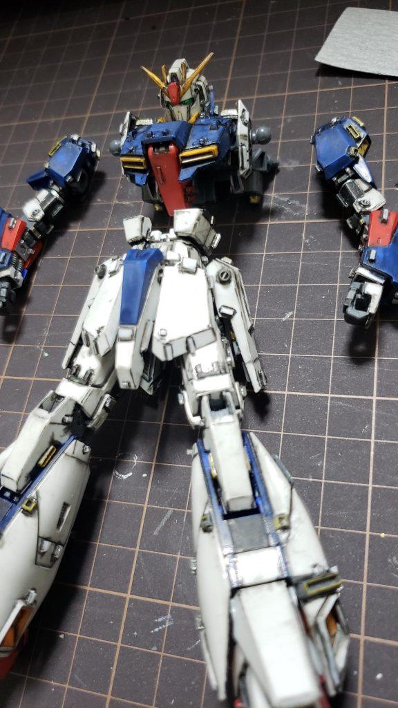 MSZ-006 Zガンダム 制作工程3