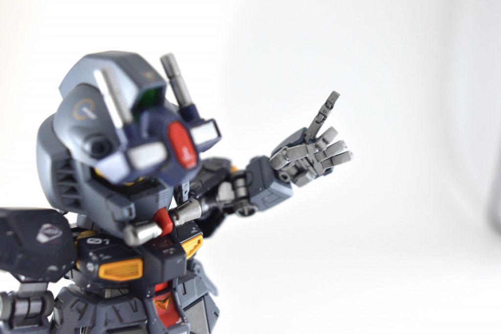 NEW GM(GUNSTA MASTER) 制作工程5