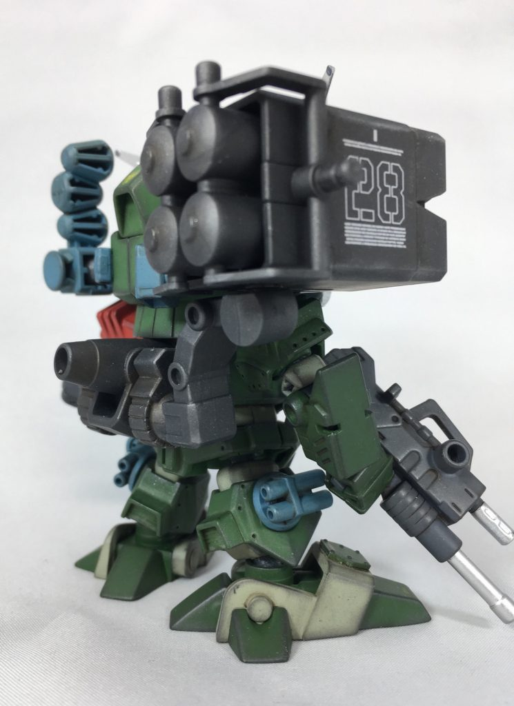 SD コマンドガンダム RSカスタム アピールショット3