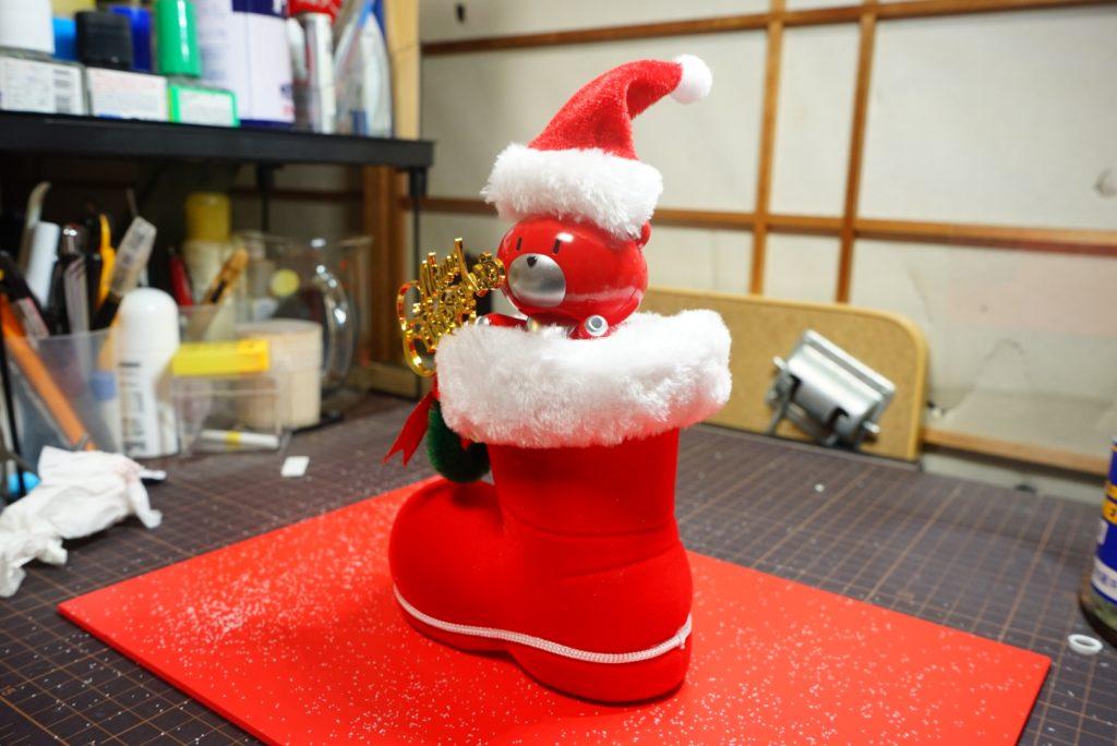 プチッガイ クリスマスカラー アピールショット3