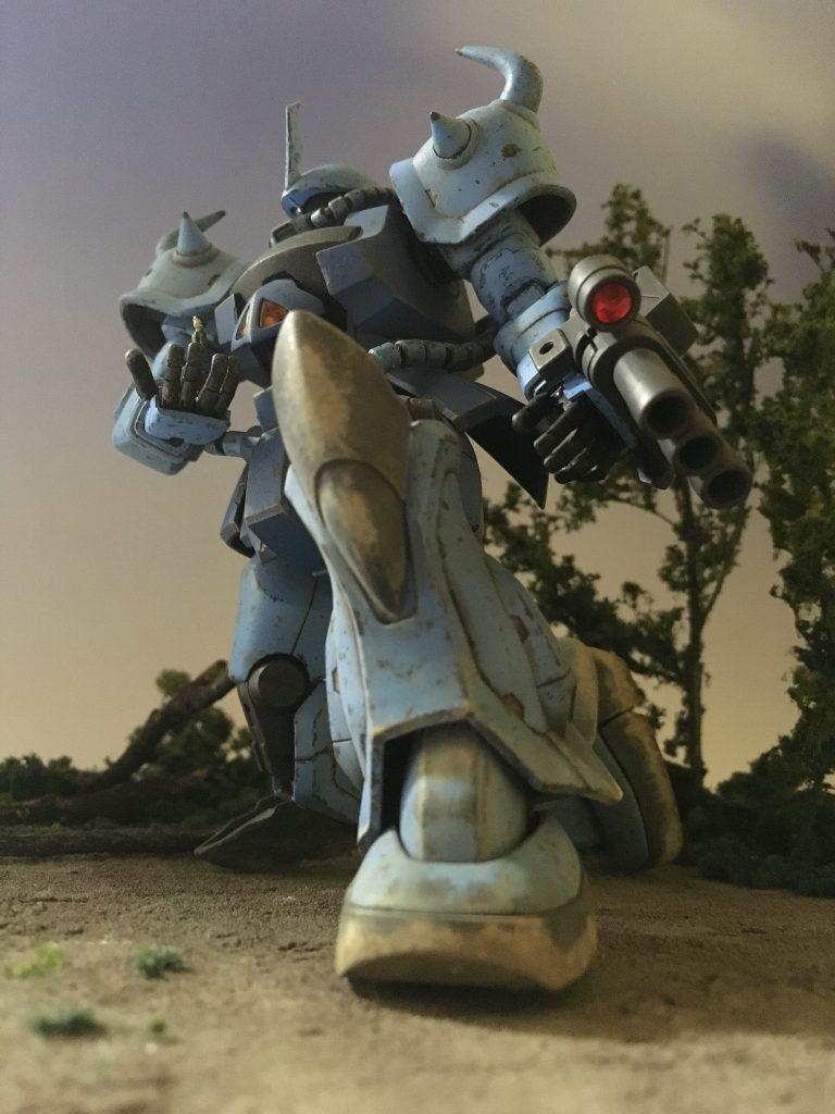 GOUF CUSTOM 〜戦士の視線の先〜
